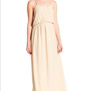 ANINE BING Champagne Silk Dress